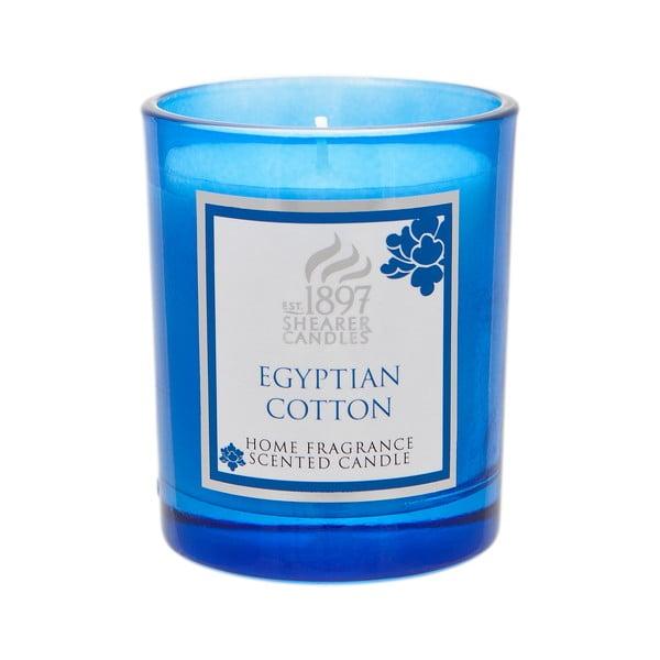 Vonná svíčka Coloured 30 hodin hoření, aroma egyptská bavlna