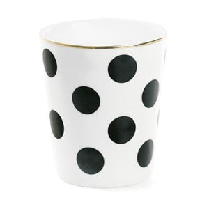 Cană din ceramică Big Black Dots