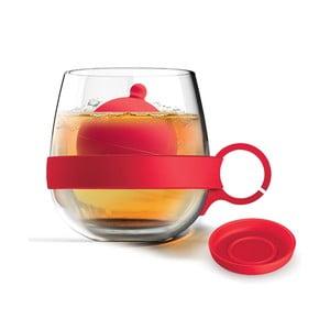 Hrnek Tea Ball, červený