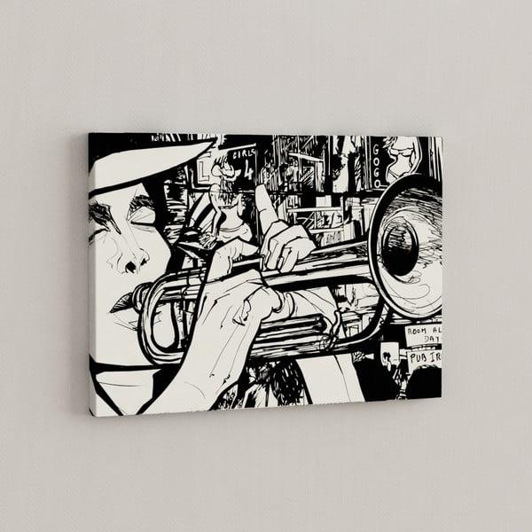Obraz Hudba léčí, 50x70 cm