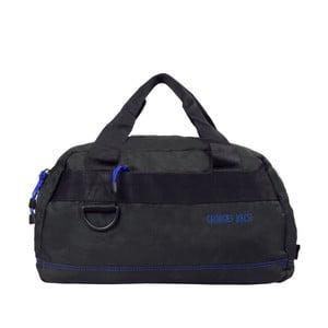 Černá taška s modrými detaily BlueStarEdimbourg, 17litrů