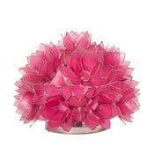 Perleťová stolní lampa Dome, růžová