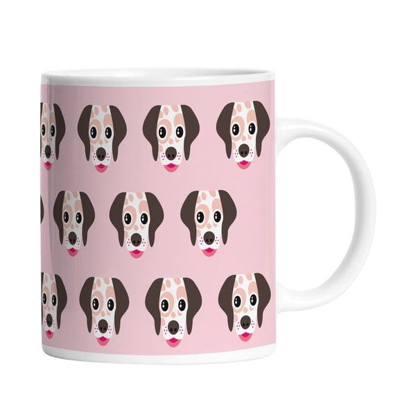 Keramický hrnek I Love Dogs, 330 ml