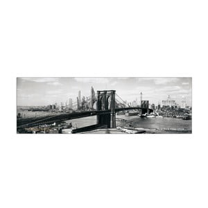 Obraz Anonymous - The Brooklyn Bridge NYC, 1938, 100x33 cm