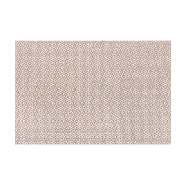 Hnědošedé prostírání Tiseco Home Studio Triangle, 45 x 30 cm