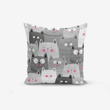 Față de pernă Minimalist Cushion Covers Catty, 45 x 45 cm