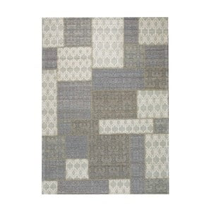 Koberec Patchwork Light Grey, 170x240 cm