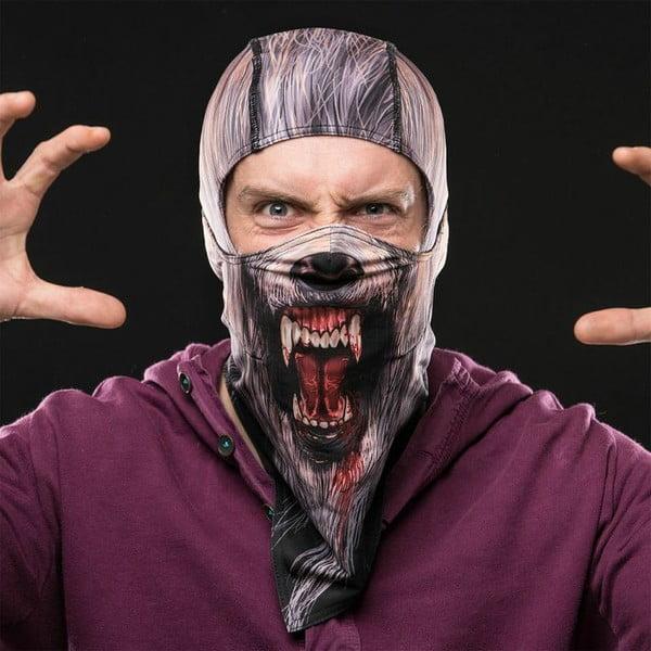 Lyžařská maska na celou hlavu Wolf