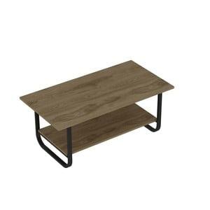 Konferenční stolek v dekoru dubového dřeva Sesle Black