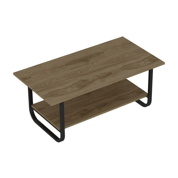 Konferenčný stolík v dekore dubového dreva Sesle Black
