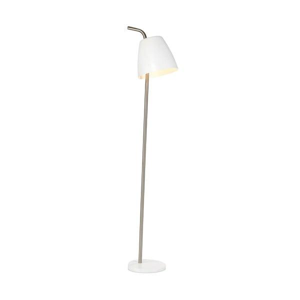 Bílá volně stojící lampa Markslöjd Spin Floor White