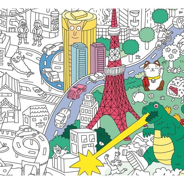 Omalovánka OMY Tokyo (70 x 100 cm)