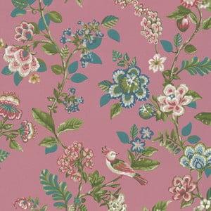 Růžová vliesová tapeta Pip Studio Nature