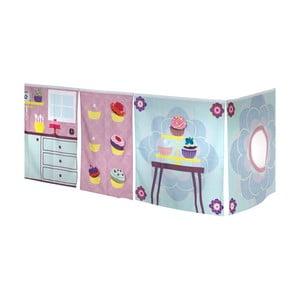 Závěs pod dětskou postel Manis-h Cup Cake Girl
