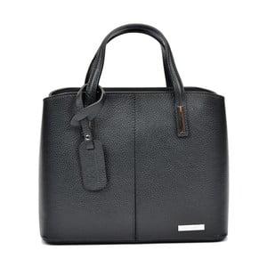 Černá kožená kabelka Sofia Cardoni Prisca