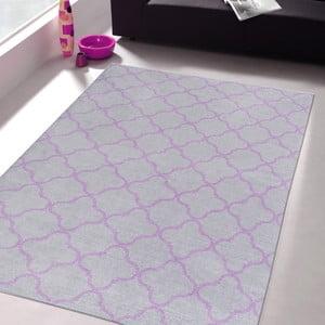Vysoce odolný kuchyňský koberec Webtappeti Trellis Silver, 60x150 cm