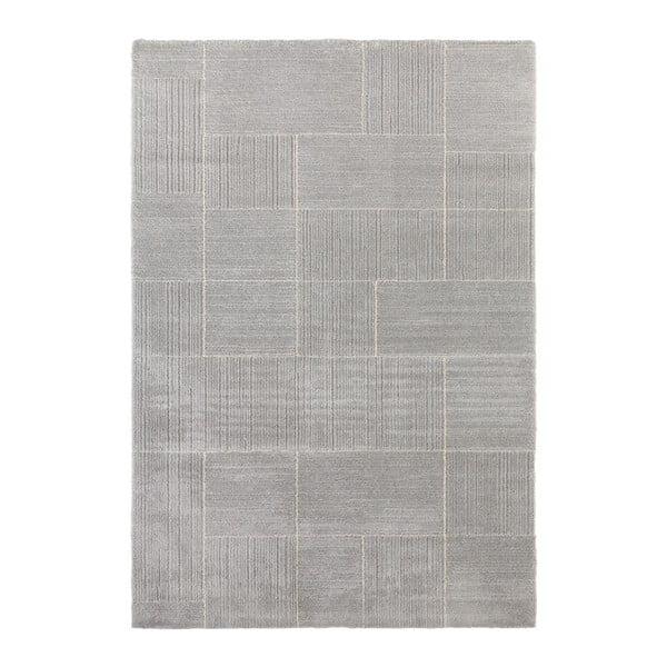 Covor Elle Decor Glow Castres, 80 x 150 cm, gri deschis