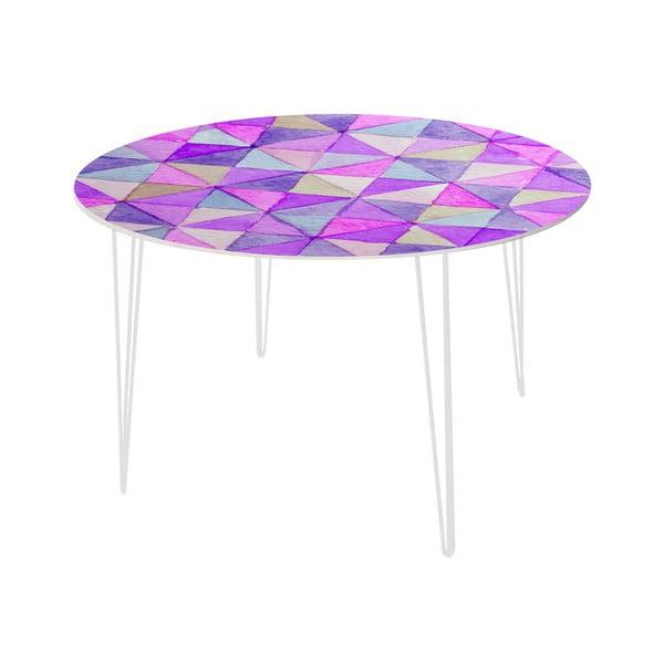 Jídelní stůl Triangle Mosaic, 120 cm