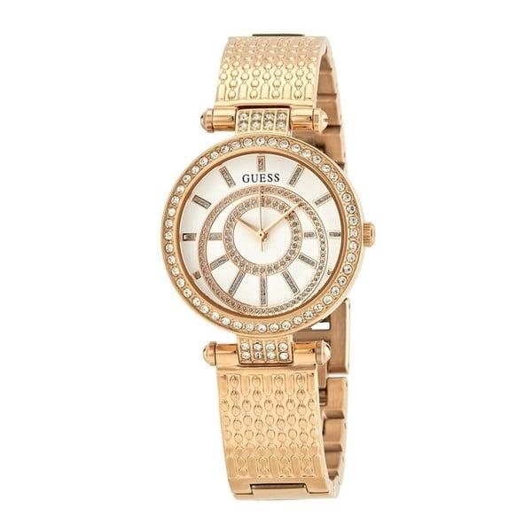 Ceas damă Guess W1008L3, curea metalică, roz-auriu
