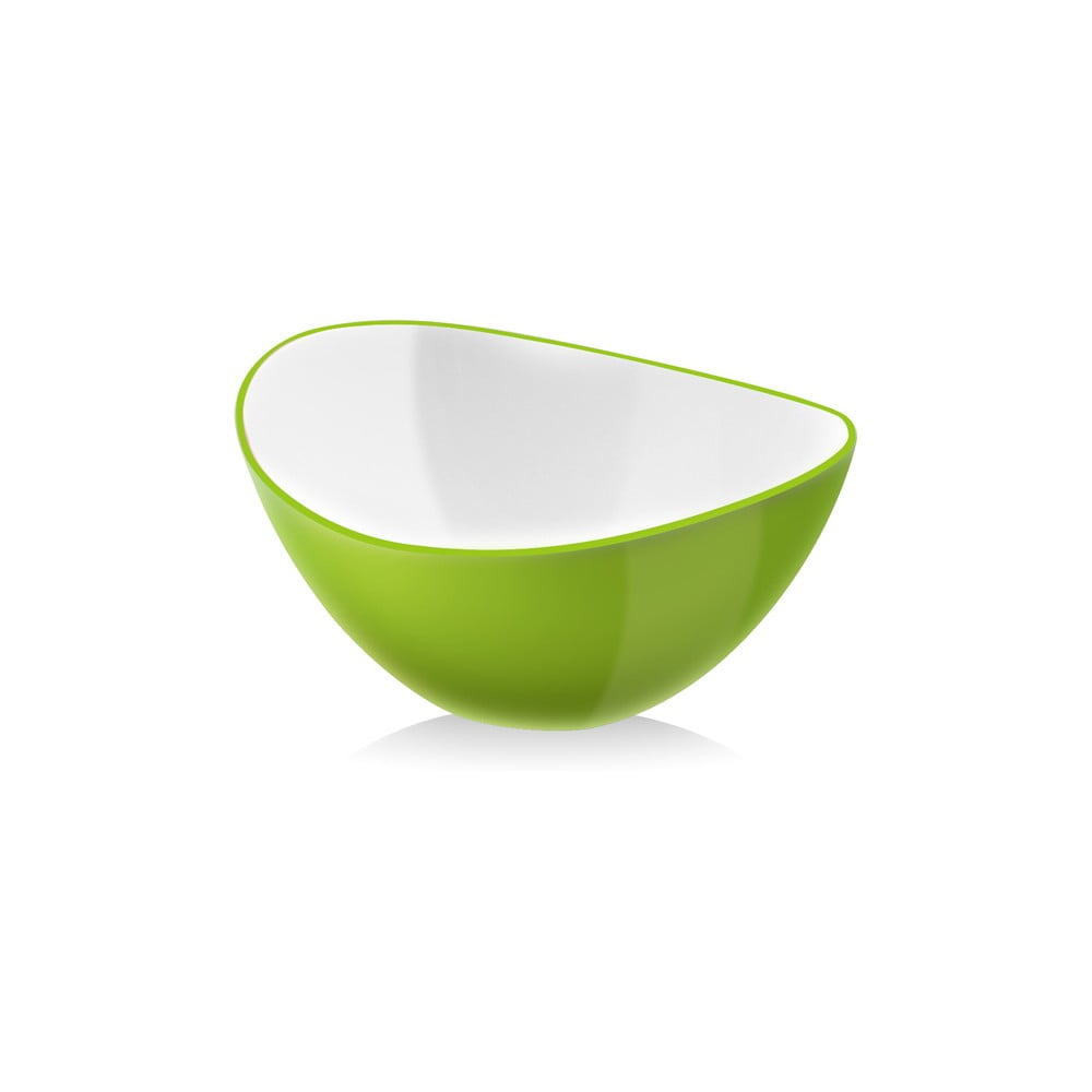 Zelená salátová mísa Vialli Design, 25 cm