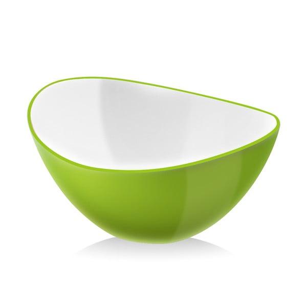 Bol pentru salată Vialli Design, 25 cm, verde