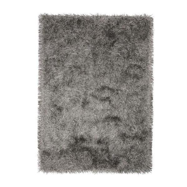 Koberec Dishy, 170x240 cm, šedý