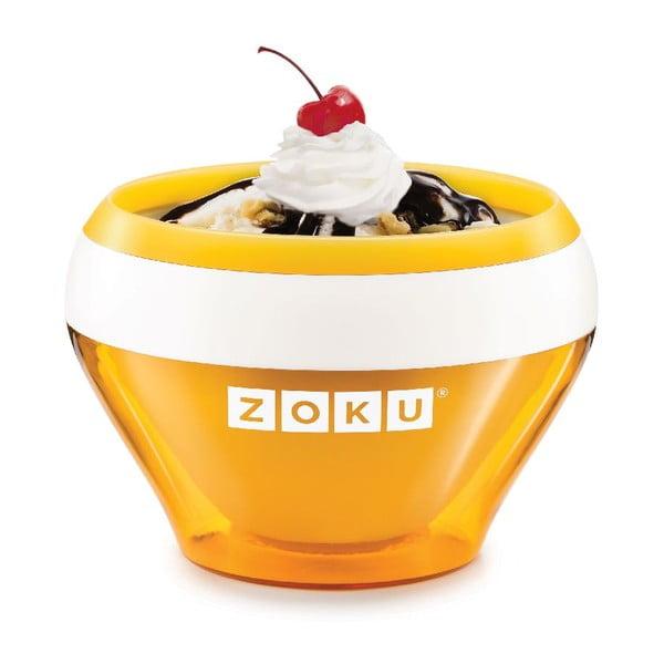 Oranžový zmrzlinovač Zoku Ice Cream