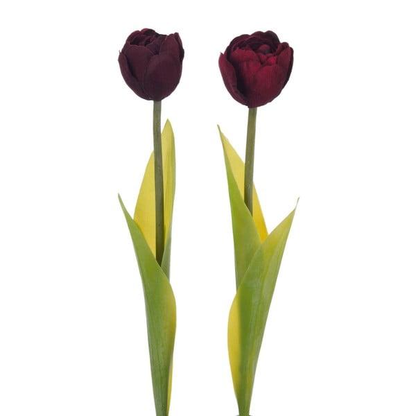 Sada dvou kusů umělých tulipánů