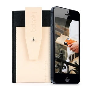 Pouzdro na iPhone 5 Exclusive Cream