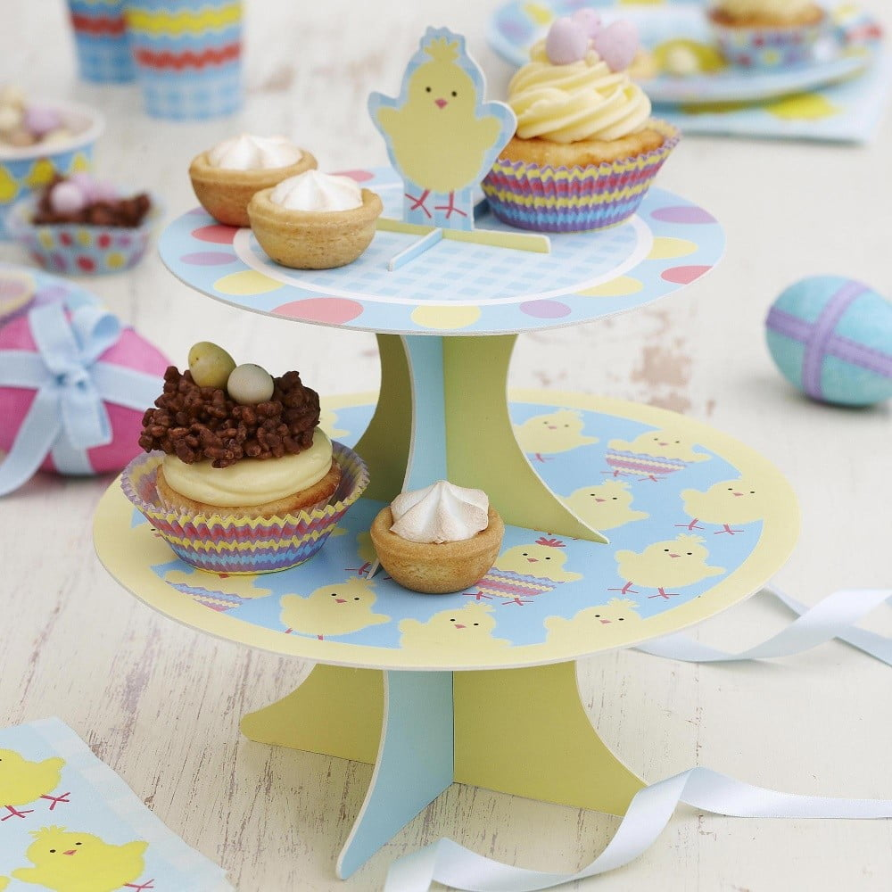Papírový stojan na dort Neviti Easter Chick