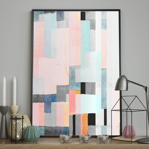 Plakát DecoKing Abstract Panels, 70 x 50 cm