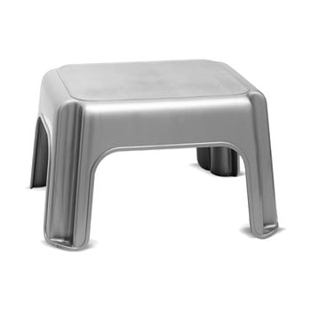 Scaun Addis Step Stool Metallic, gri imagine