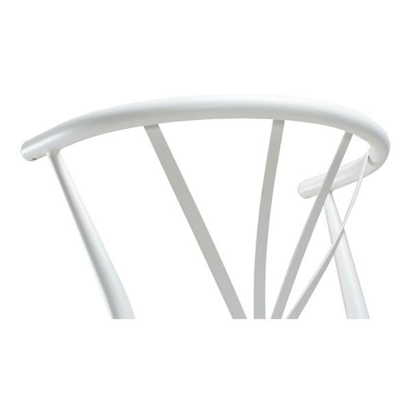 Bílá barová židle DAN-FORM Denmark Delta