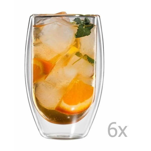 Sada 6 sklenic na čaj bloomix Tetouan