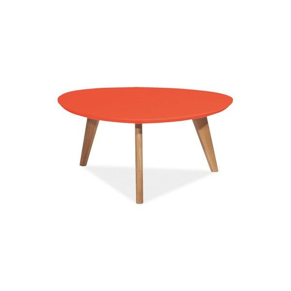 Konferenční stolek Milan 80 cm, červený