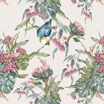 Tapet Dekornik Tropical Parrot, 50 x 280 cm imagine
