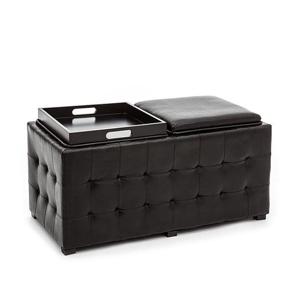 Lavice s úložným prostorem Tomasucci Dizz, černý