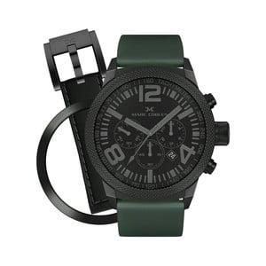 Unisex hodinky Marc Coblen s páskem a kroužkem navíc P54