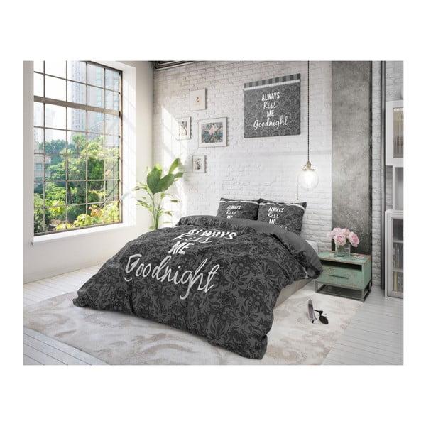 Lenjerie de pat din bumbac Dreamhouse Kiss Your Love, 240 x 200 cm