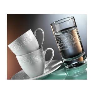 Sada 12 hrníčků na kávu a sklenice Kutahya Elegance