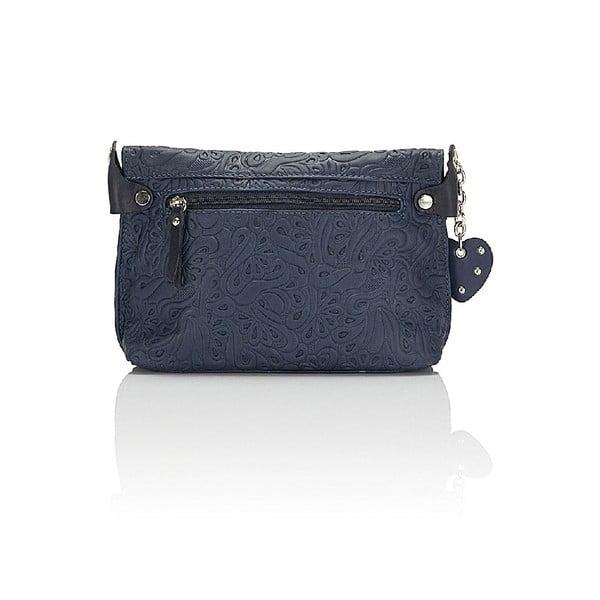 Kožená kabelka Giorgio Costa 15006 Blue
