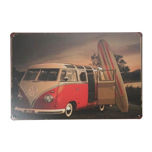 Cedule Surfer Volkswagen, 20x30 cm