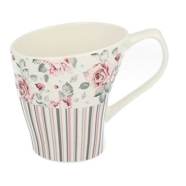 Porcelánový hrnek Duo Gift Růžička, 400 ml