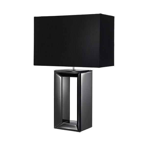 Moderní stolní lampa Reflections, černá