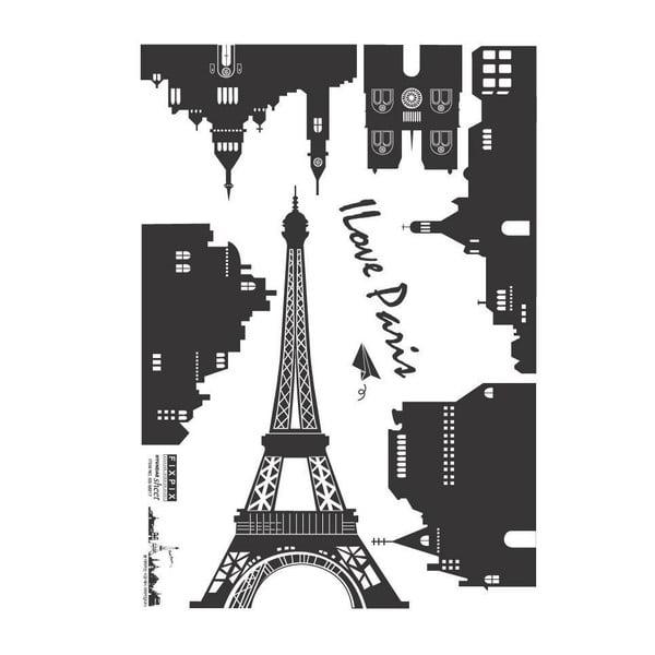 Samolepka Ambiance Paris Landscape