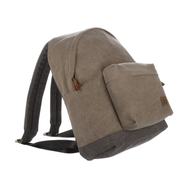 Batoh Paddington Brown Canvas Backpack