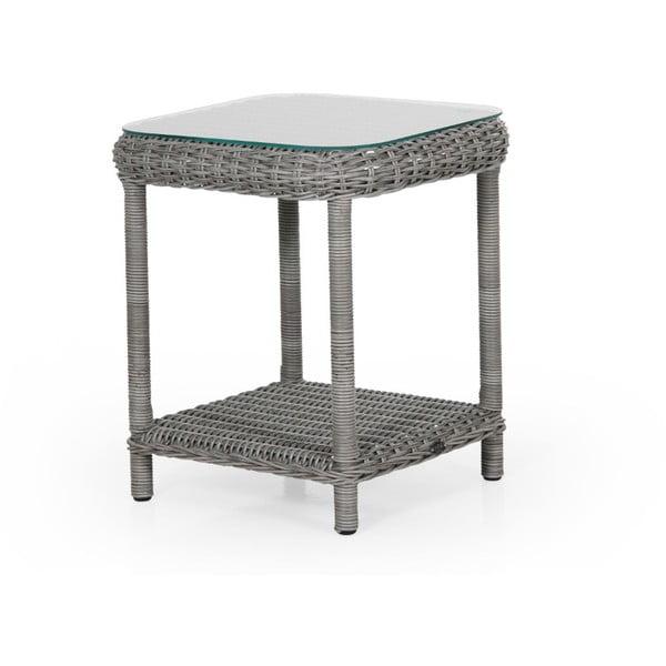 Šedý zahradní stolek Brafab Catherine, 49x49cm