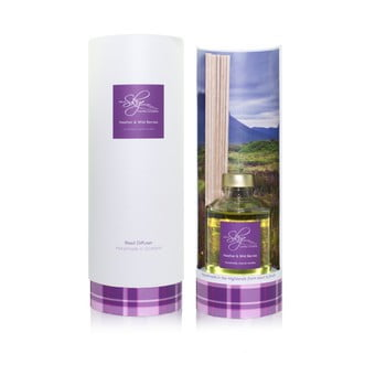 Difuzor cu aromă de iarbă neagră și afine Skye Candles, parfum intens timp de 12 săptămâni de la Skye Candles
