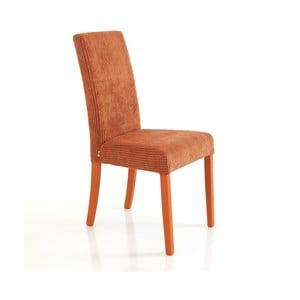 Sada 2 oranžových jídelních židlí Tomasucci Mary