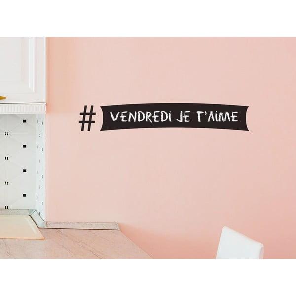 Dekorativní tabulová samolepka Hashtag